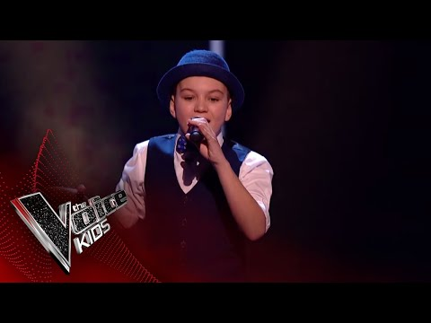 Isaac Performs 'Get Stupid': Blinds 1 | The Voice Kids UK 2018