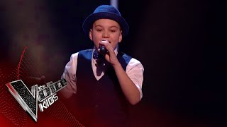 Isaac Performs 'Get Stupid': Blinds 1 | The Voice Kids UK 2018 thumbnail