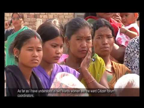Nepal: Strengthening Local Democracy through Ward Citizen Forums