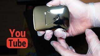 Разбираем серебряную кнопку от YouTube.(Мне недавно прислали серебряную кнопку за 100000 подписчиков. Но меня не устроила одна лишь кнопка. Мне стало..., 2015-04-07T14:01:11.000Z)