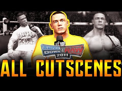 WWE SVR 2011 | John Cena RTWM All Cutscenes PS3/Xbox 360 1080p