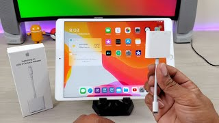 Gambar cover iPad Pro 10.5 iPadOs: Lightning to USB-C Support is here with this Accessory!