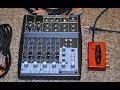 Behringer Xenyx 802 & UCA222 interface setup for recording