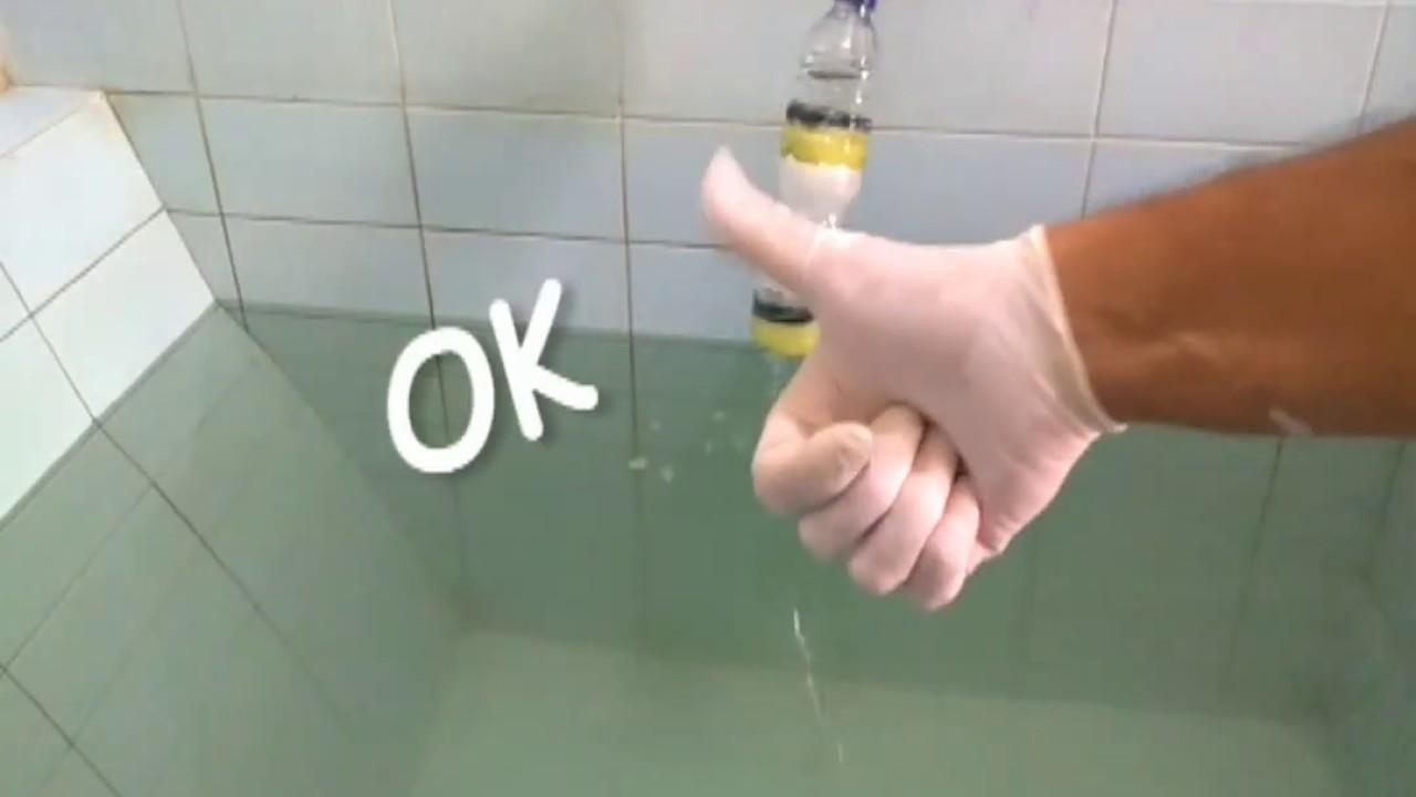 Membuat Sendiri Filter Air Sederhana Untuk Air Keran Youtube