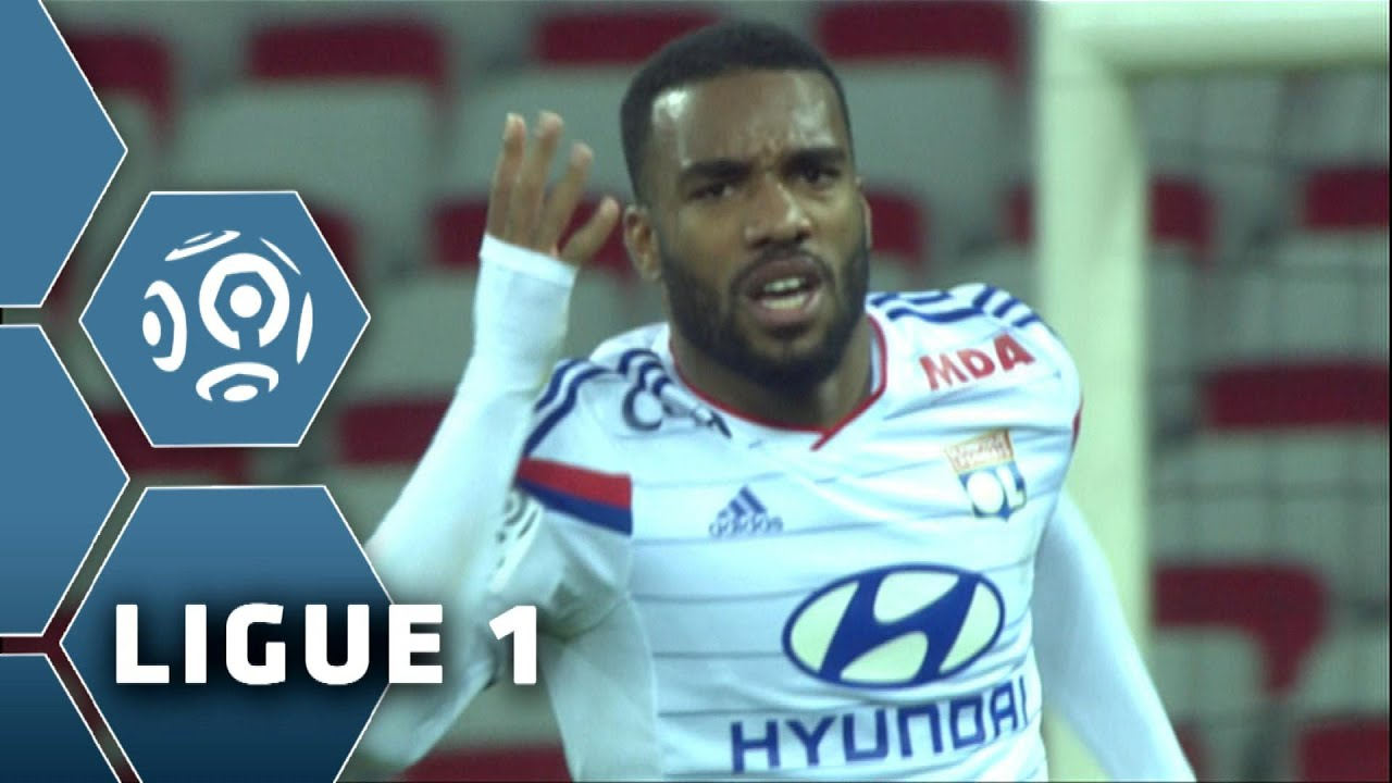 les 17 buts d 39 alexandre lacazette meilleur buteur de ligue 1 la tr ve j19 ligue 1 2014 15. Black Bedroom Furniture Sets. Home Design Ideas