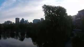 Boston Public Garden QuadCopter
