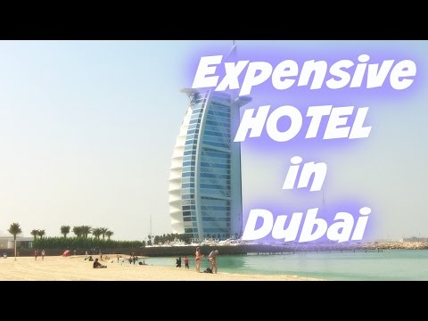 The Only 7 Star Hotel in the World  The Most Expensive Hotel
