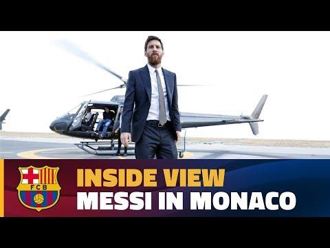 [BEHIND THE SCENES] Twelve hours in Monaco with Messi