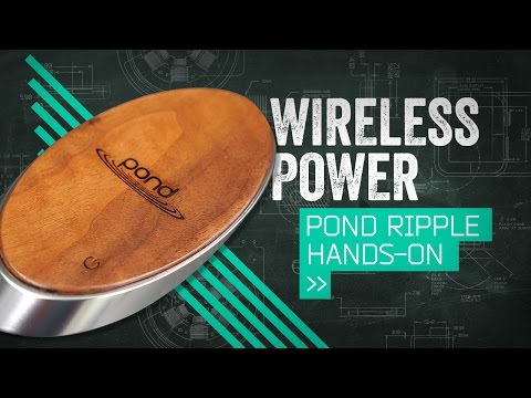 Pond Ripple: The Power Pack Goes Wireless