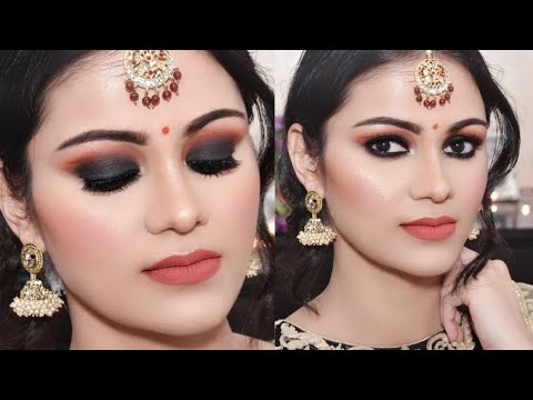 आई Easy Black Smokey Eye