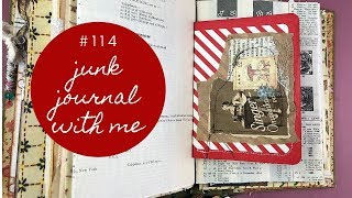 Junk Journal with me 115 - Working with more happy mail items