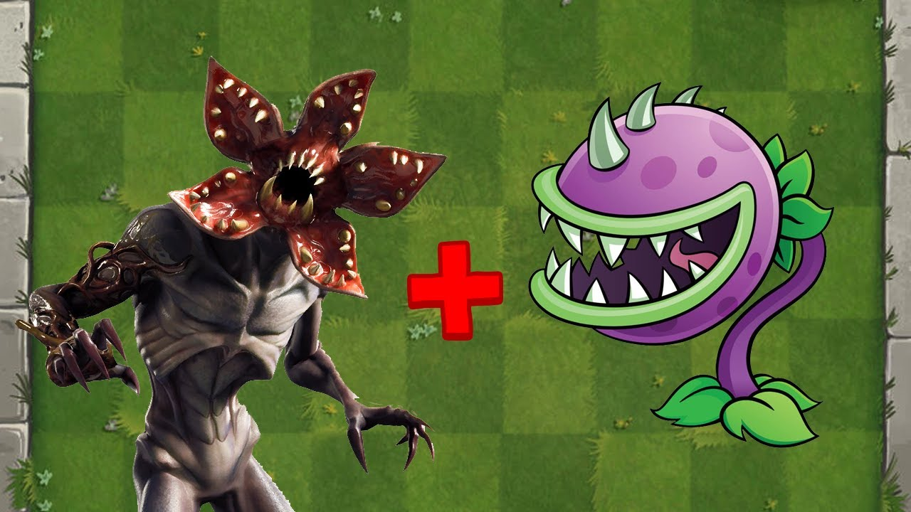 Demogorgon (Stranger Things) + Chomper Fusion - Plants vs Zombies Animation