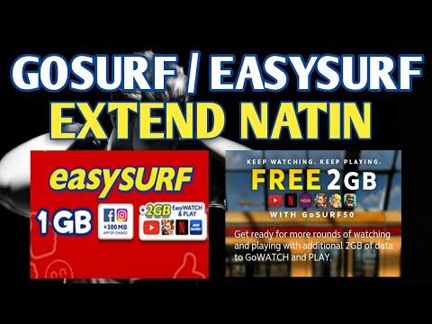 Extend Gosurf / Easysurf Promo !