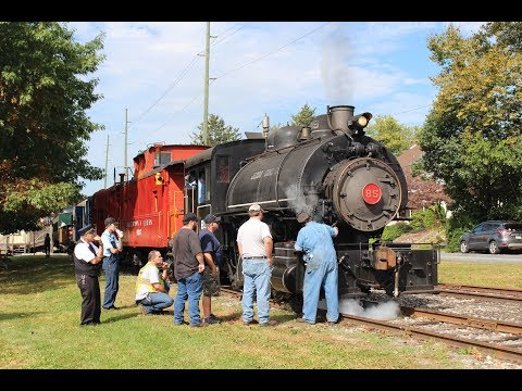 A partical day of steam on the Allentown and Auburn