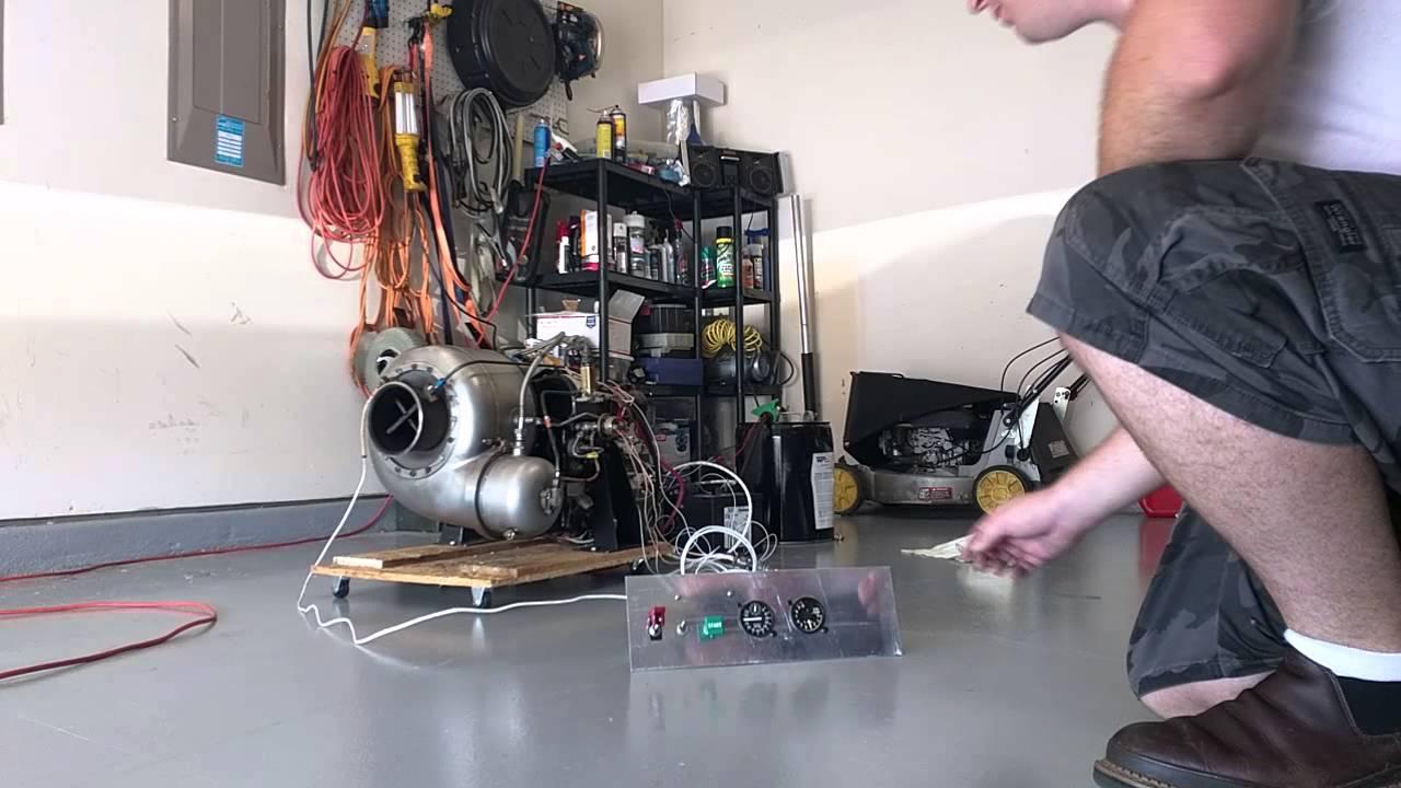 Garrett GTP-30-67 gas turbine engine