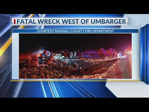 Fatal Wreck on US 60 West of Umbarger