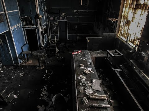 Abandoned Bar In Flint, MI. (Almost Everything Left Behind)