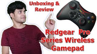 [HINDI] RedGear PRO Series Wireless Gamepad | Unboxing, Installation and Gameplay | Technology Point