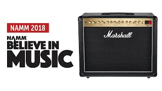 Namm 2018: Marshall DSL40C-R Sound Demo (no talking)