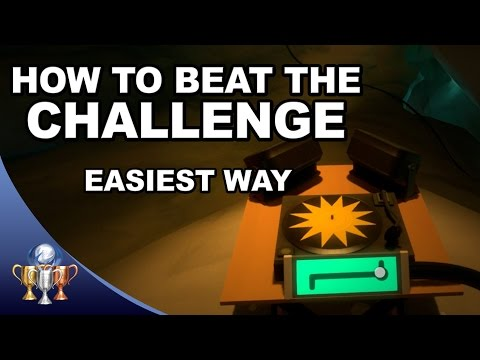 The Witness Challenge Trophy Guide - Easiest Way To Find Music Box & Beat The Certain Challenge