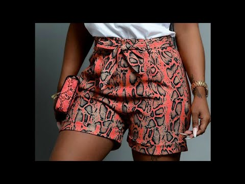 Download How to make female SHORTS PANT with TURN UP (Pattern Tutorial)