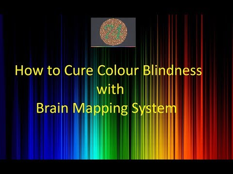 Treatment  and Cure For Colour Blindness- With Brain Mapping  System© Call-+91-9984420572