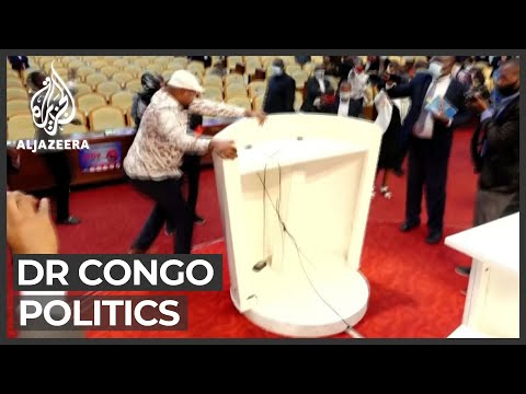 DR Congo legislators vote to remove parliament speaker