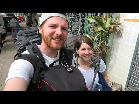 EXPLORING YANGON • Myanmar • Weltreise Vlog 008