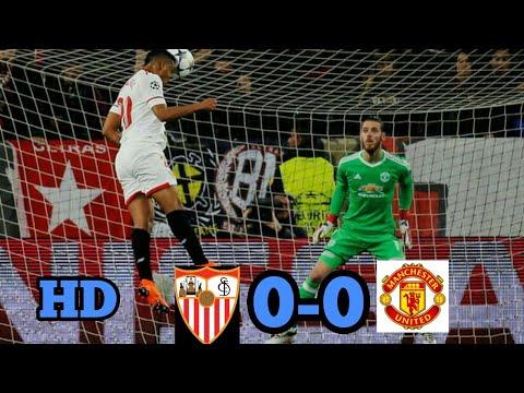 SEVILLA vs Manchester United 0-0 Hasil liga Champion Tadi Malam 21-2-2018.