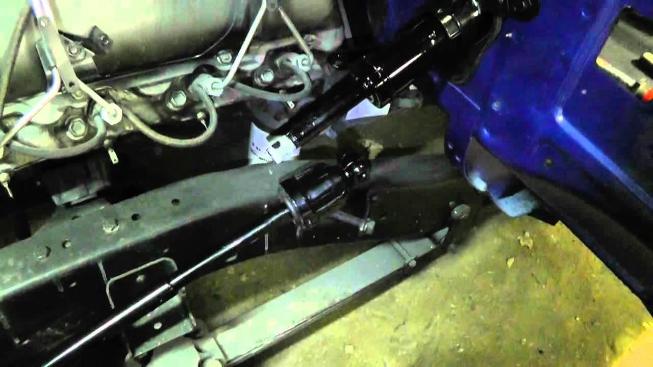 1972 K25  Steering Column Installed  YouTube