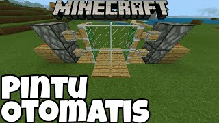 Download Minecraft Tutorial - Membuat Pintu Otomatis