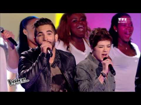The Voice 2014│Les 8 talents en demi finale - A nos actes manqués (Fredericks Goldman Jones)