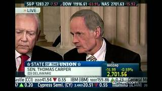 Senator Tom Carper on CNBC
