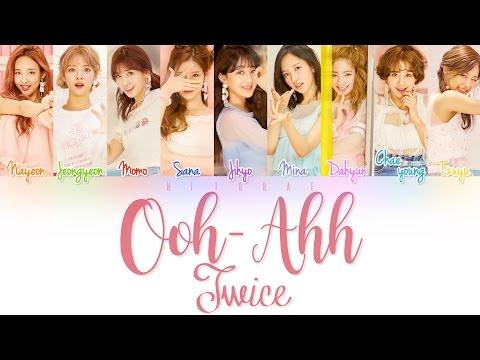 TWICE – LIKE OOH-AHH (OOH-AHH하게) Color Coded Lyrics HAN/ROM/ENG