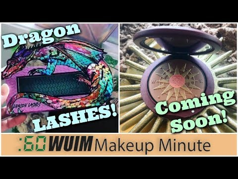 Dragon Eyelashes are COMING! Gorgeous NEW Bronzer From Guerlain!!   Makeup Minute