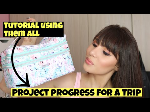 PROJECT PROGRESS FOR A TRIP : WHAT I TAKE WITH ME ON SHORT TRIPS - MAKEUP I WANT TO USE thumbnail