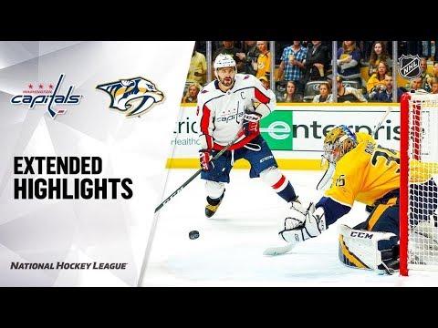 Washington Capitals Vs Nashville Predators Oct 10, 2019 HIGHLIGHTS HD