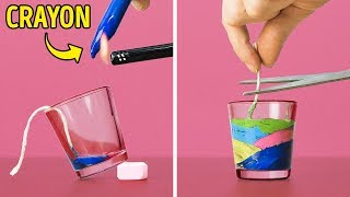 13 COOL CANDLES YOU CAN DIY