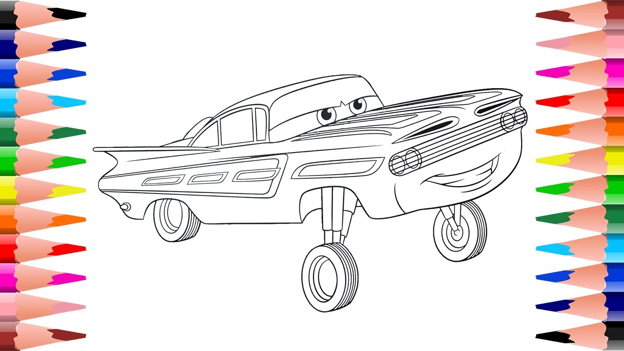 Coloring Disney Pixar Cars Painting Ramone Cars Coloring Pages For
