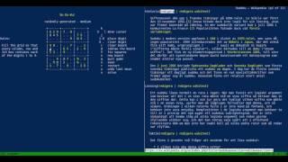 "Sudoku-skola i ""Bash on Ubuntu on Windows"" på svenska (BashOnWindows/WSL)"