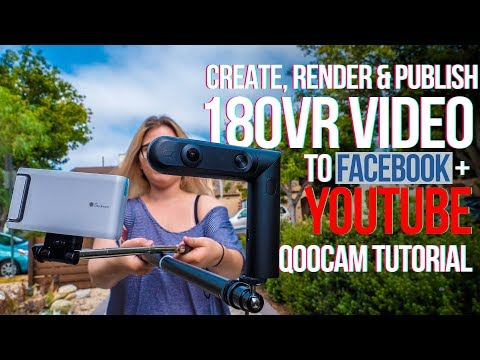 How to Create, Edit & Publish VR180 video...