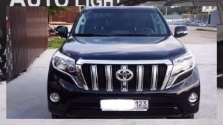 Toyota Land Cruiser Prado чёрный внедорожник, 2015 г(Toyota Land Cruiser Prado чёрный внедорожник, 2015 г., пробег 25 000 - 29 999 км. 3.0 AT (173 л.с.), дизель, полный привод, левый руль,..., 2016-07-19T19:16:04.000Z)
