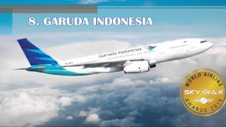 Top 10 Airlines - World's Best Airlines 2015 by Skytrax - the top 20