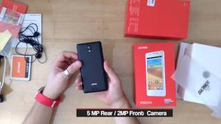 Gionee Pioneer P4 Unboxing Hands-On Video Taragis Com