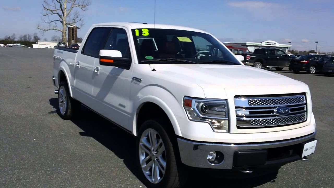 Used car for sale virginia 2011 ford f150 limited 4wd ecoboost v6