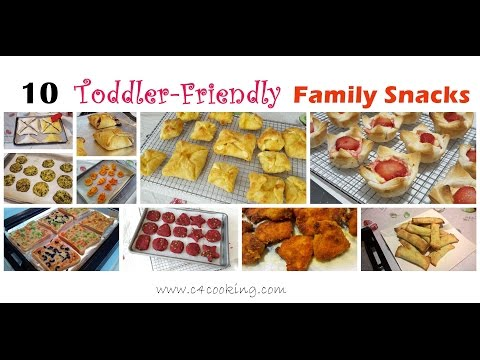 10 Easy Snacks For Toddler & Family | 12+months Baby & Family Snacks | Toddler,Kids,Family Snacks |