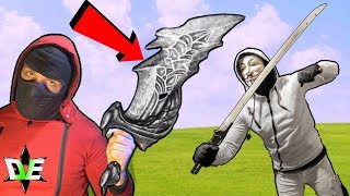 HACKER NINJA BATTLE ROYALE!! SPY GADGET TRAINING! (CHAD WILD CLAY CWC VY QWAINT PROJECT ZORGO)