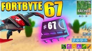 Fortnite Fortbyte 67 ⛱️ Avenger Glider | All Fortbyte Places Season 9 Utopia Skin English