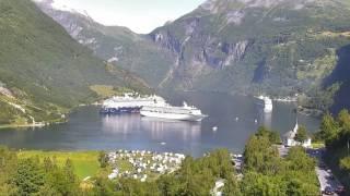 Geiranger   Live now 20170721挪威蓋朗厄爾峽灣
