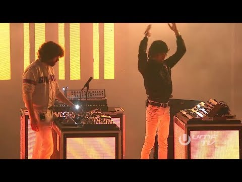 Justice live at Ultra Music Festival 2017